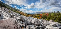 """Fall Foliage at White Rocks National Recreation Area, VT"" -"